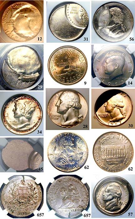 Selected lots from auction J-57